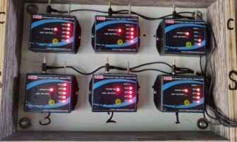 Wireless Water Level Indicator with Tank Empty and Tank Full Alarm for Multi Tank