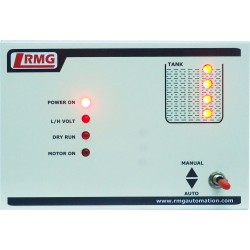Fully Automatic Water Level Controller With Four Level Indication