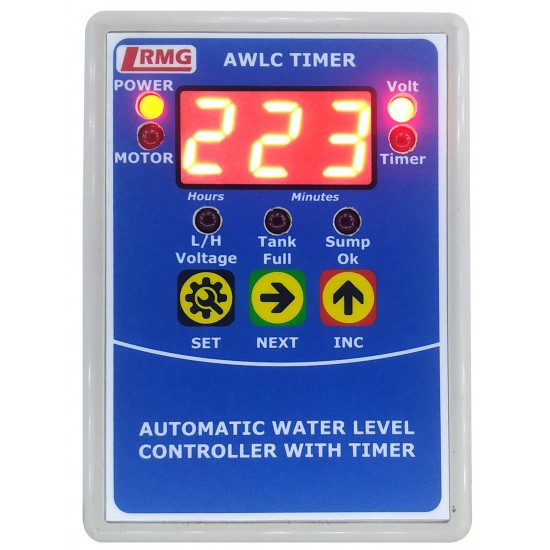 Digital Automatic Water Level Controller With Low/High Voltage Protection and Timer