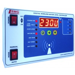 Wireless Fully Automatic Water Level Controller With Low/High Voltage, Over Load, Dry Run protection and Timer Features
