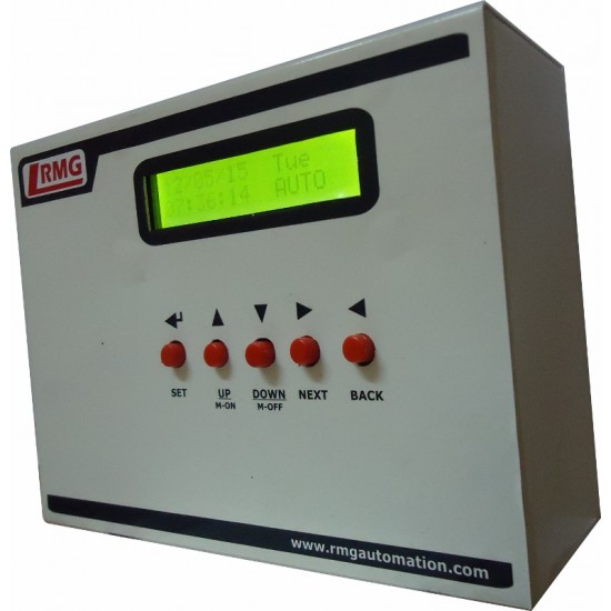 Digital Real Time Water Level Controller