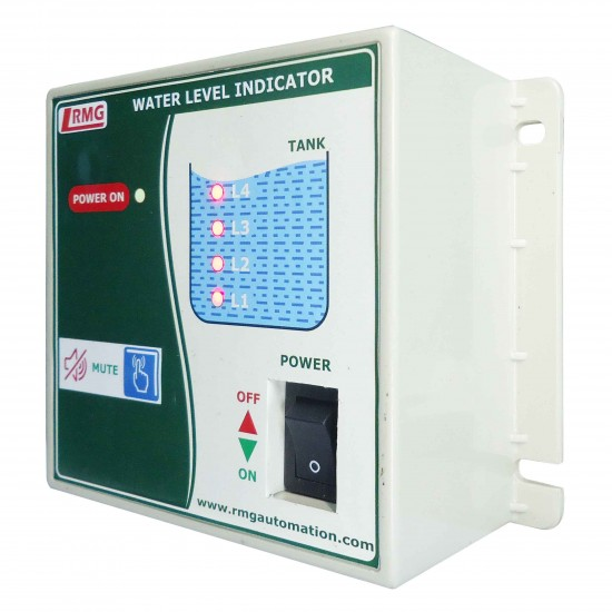 Water Level Indicator with Low & High Level Alarm