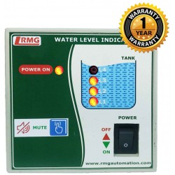 Water Level Indicator with Tank Full & Tank Empty Alarm