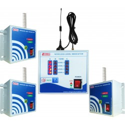 Wireless Multi-Tank Water Level Indication with Alarm