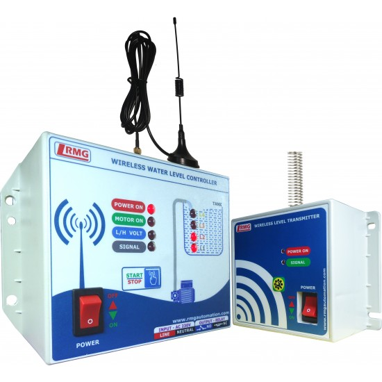 Wireless Automatic Water Level Controller with Indicator